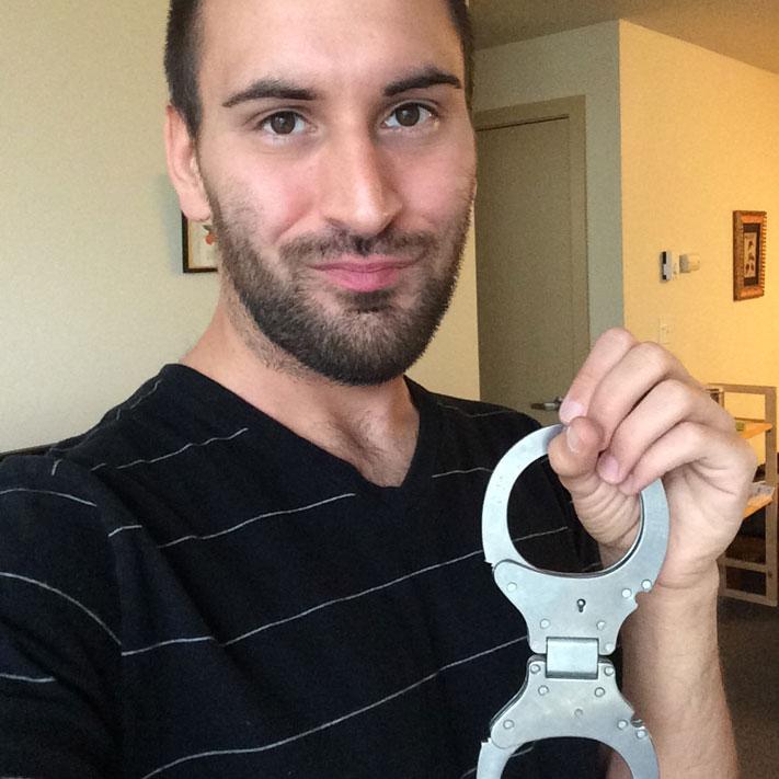 Cutieboy90 handcuffs
