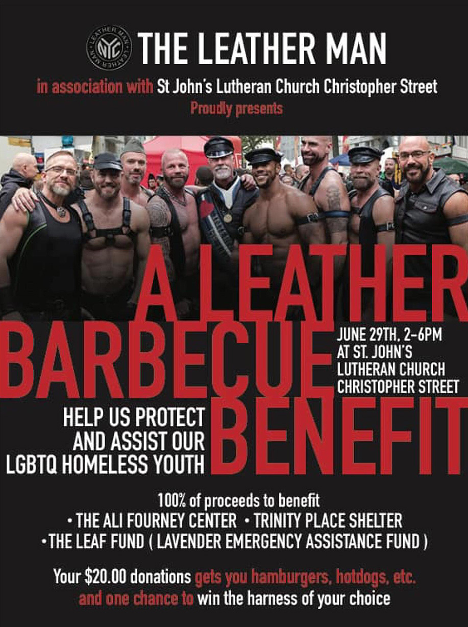 leather barbecue