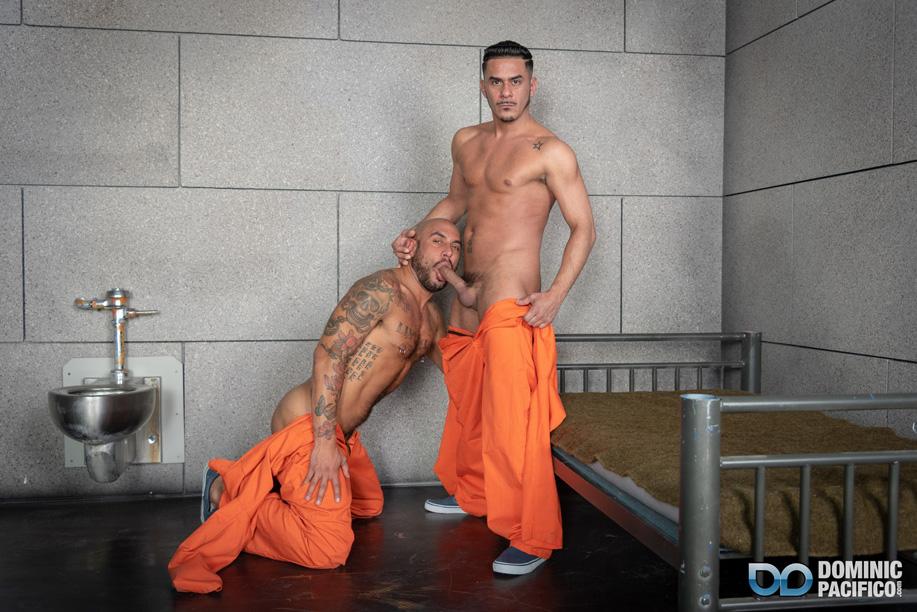 Prison sex behind bars