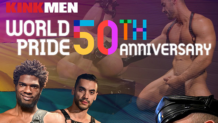Celebrate Pride with a subscription to KinkMen