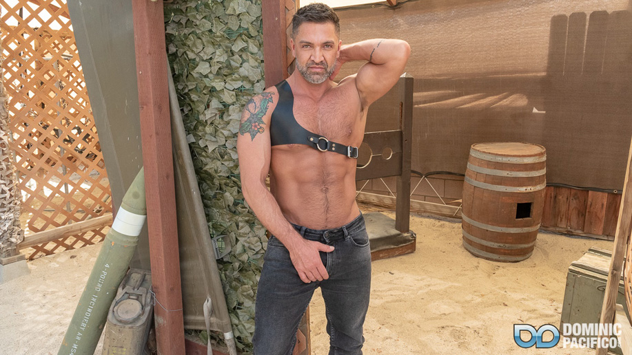 Dominic Pacifico leather male bdsm