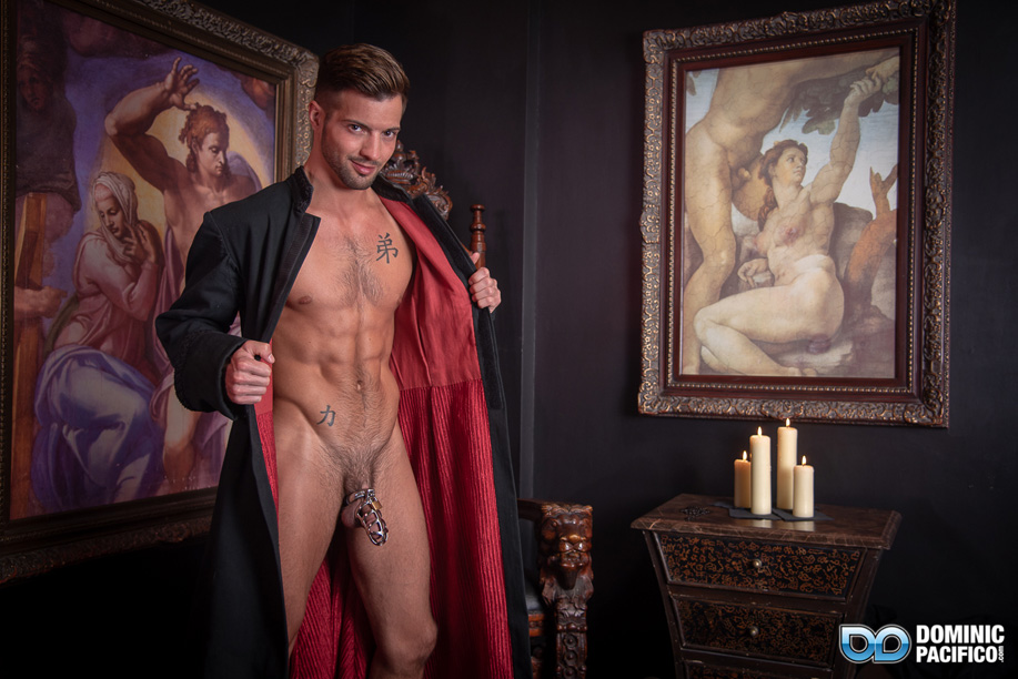Jacking off in the monastery