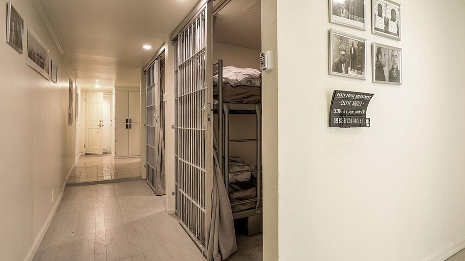 House with jail cells in the basement is for sale