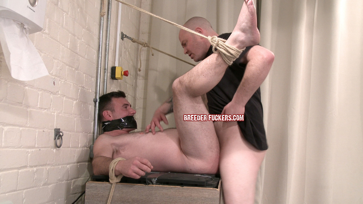 fucked up the ass in gay bondage