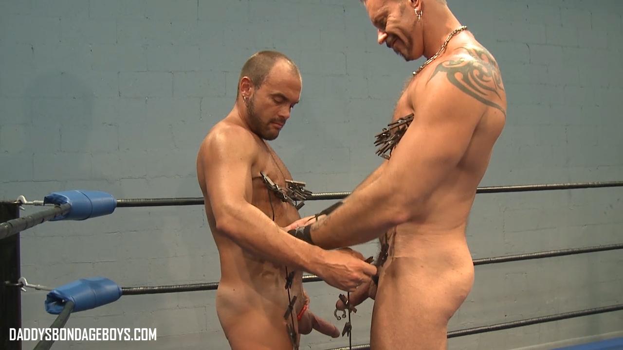Colin Steele male bondage