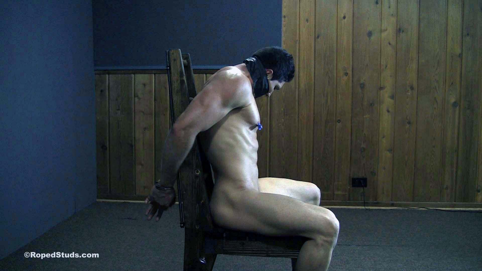 muscular bondage captive