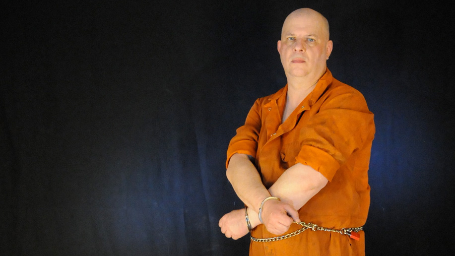 Pictures: CREUSS gets arrested then placed in a straightjacket