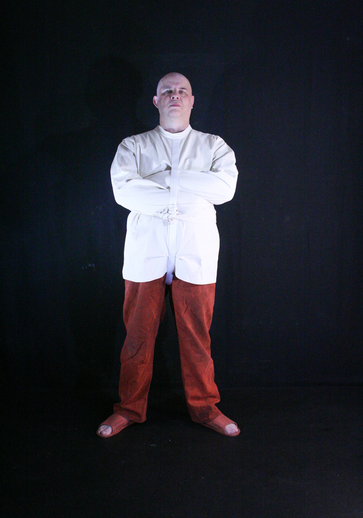 male bondage CREUSS straitjacketed