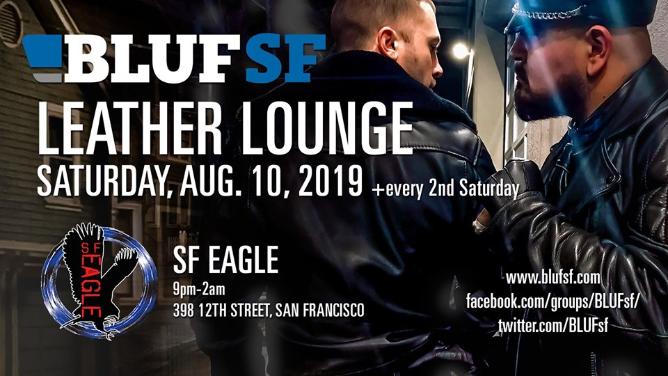 Leather Lounge this Saturday in SF