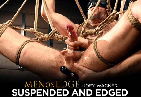 Joey Wagner male bondage
