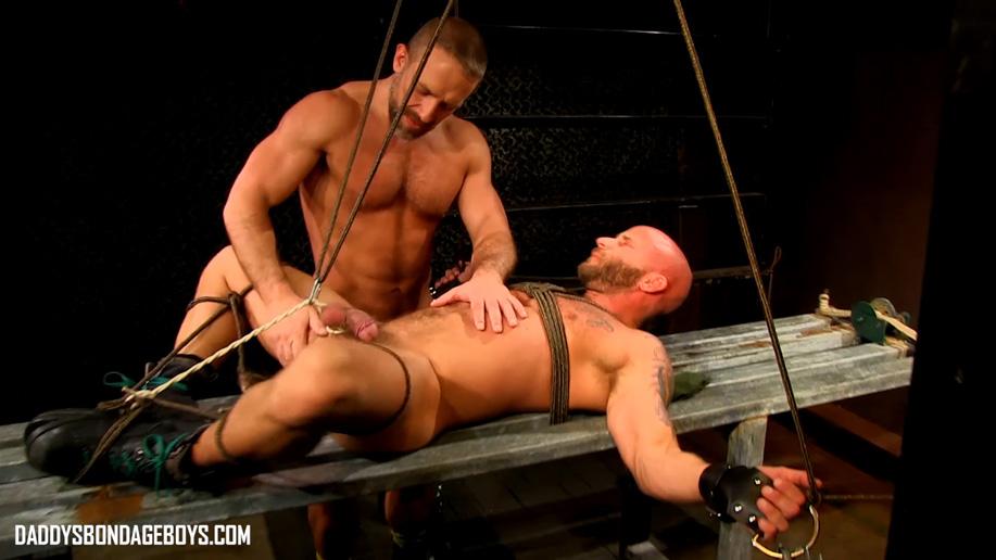 Dirk Caber tortures Drake Jaden's balls