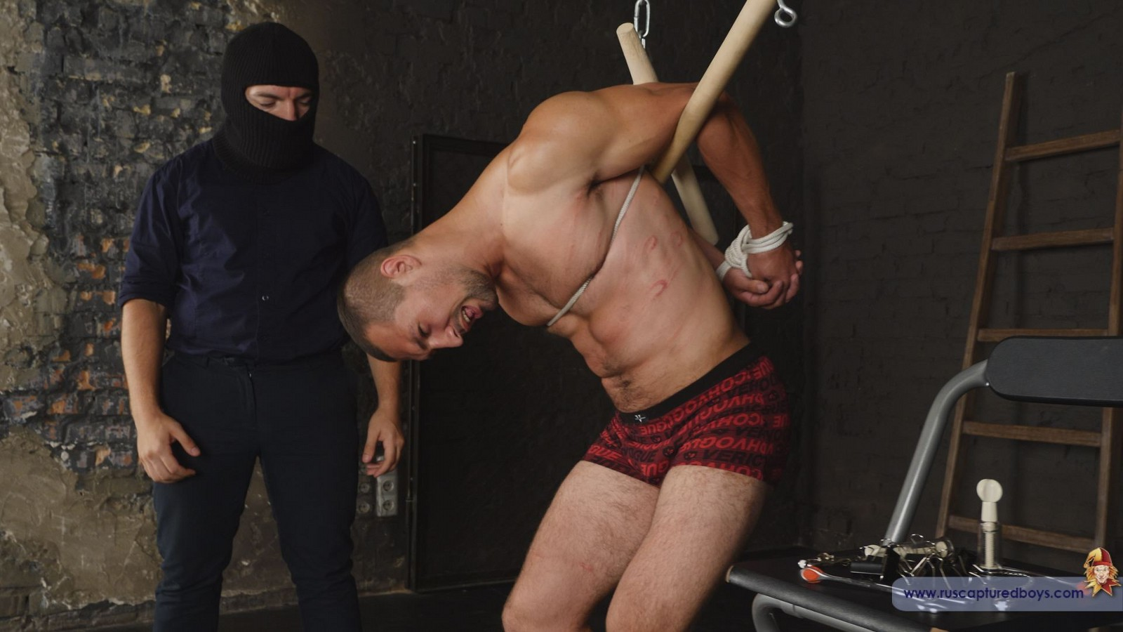 Vitaly gets tied up and tortured in Russia