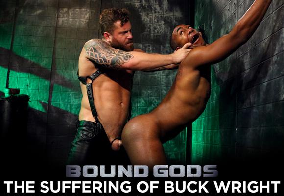 male bdsm Buck Wright suffers under Riley Mitchell