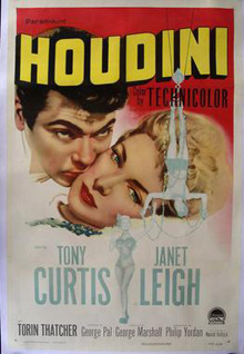 Houdini Tony Curtis