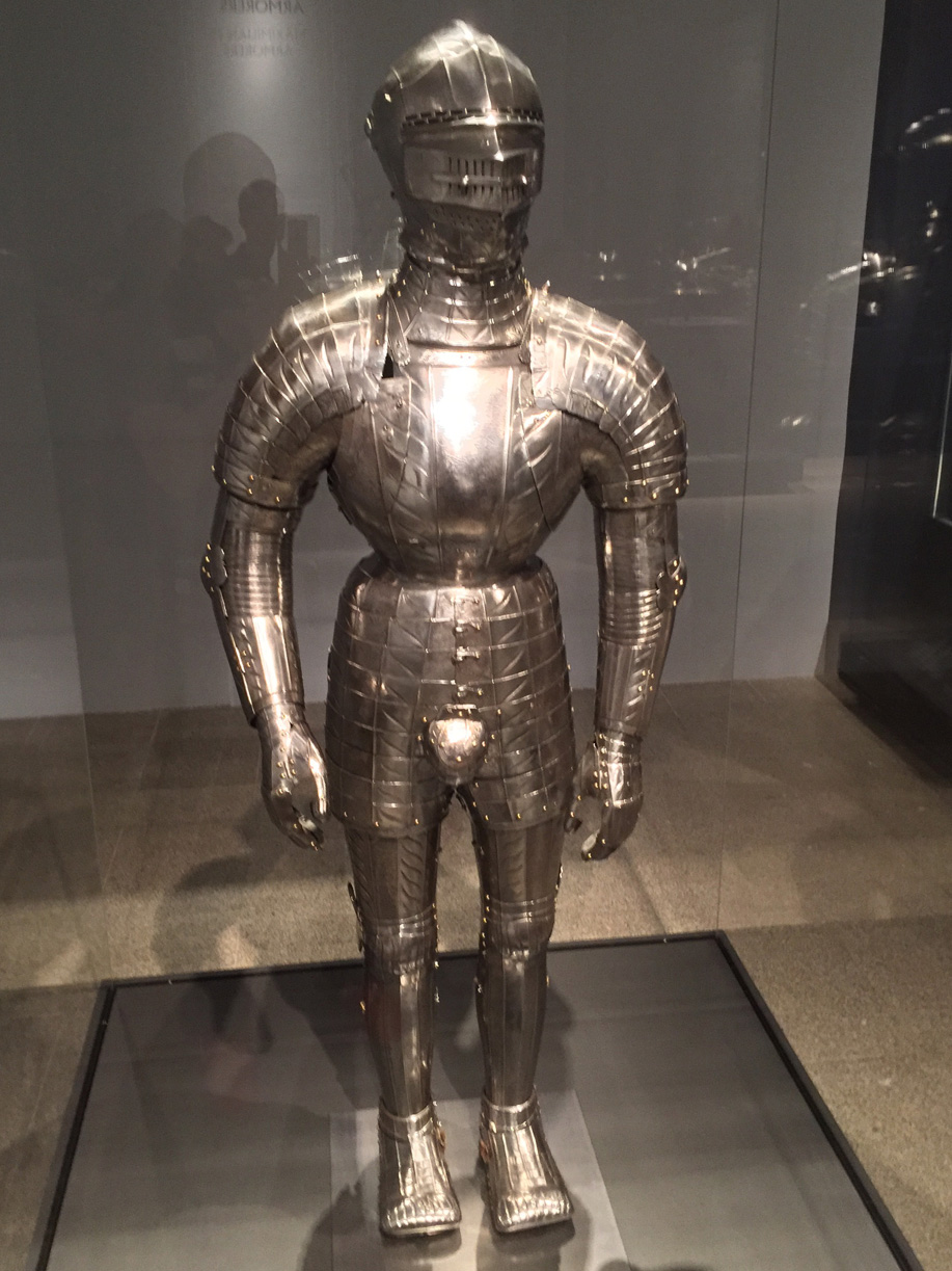 metal codpiece suit of armor