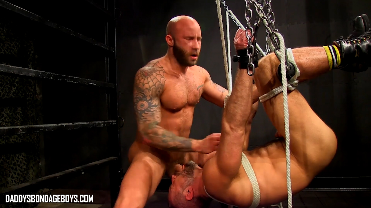 bondage fuck with Drake Jaden and Dirk Caber