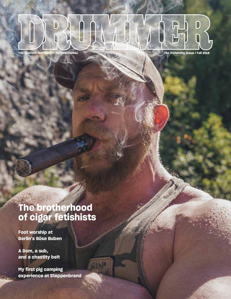 Drummer magazine relaunch
