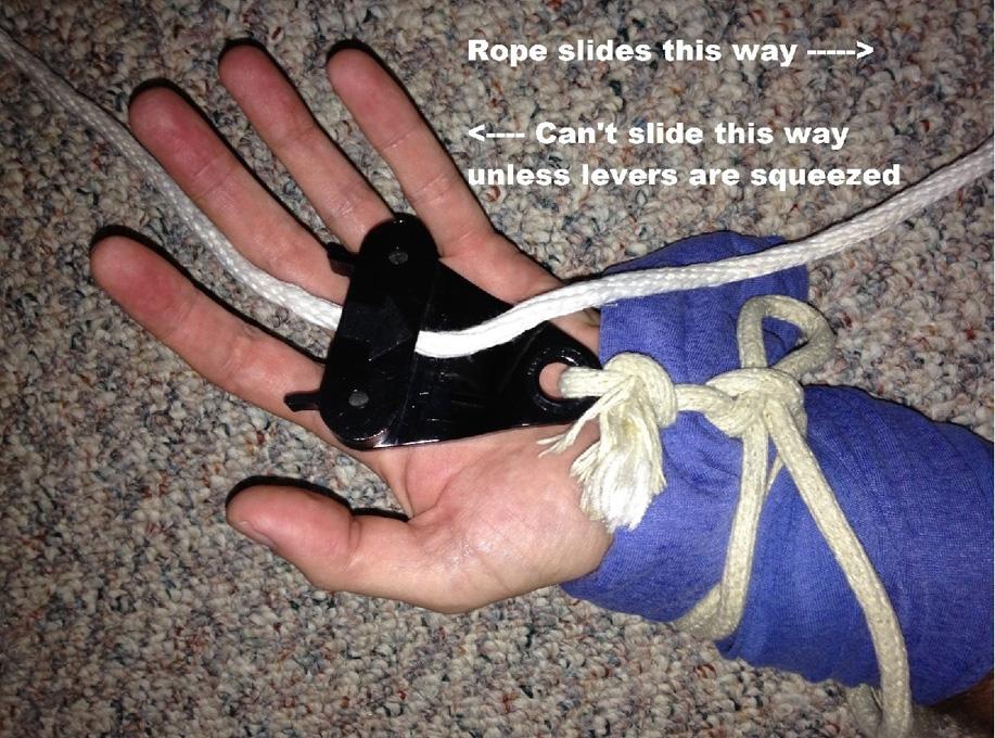 self bondage setup