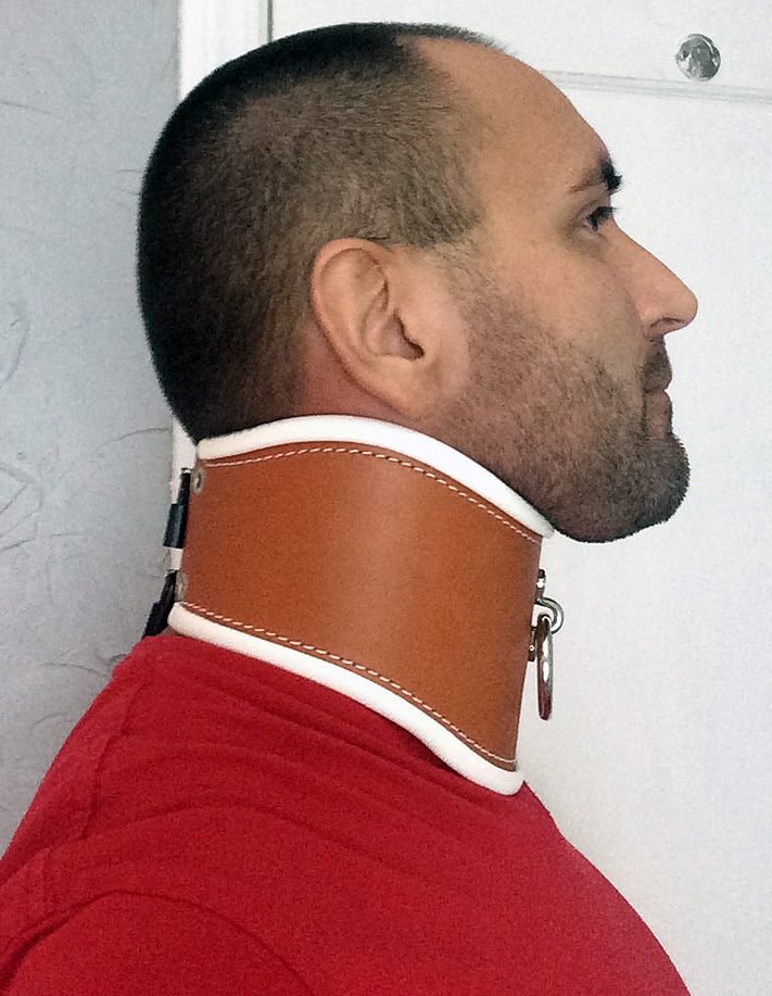 Cutieboy90 gets a new posture collar