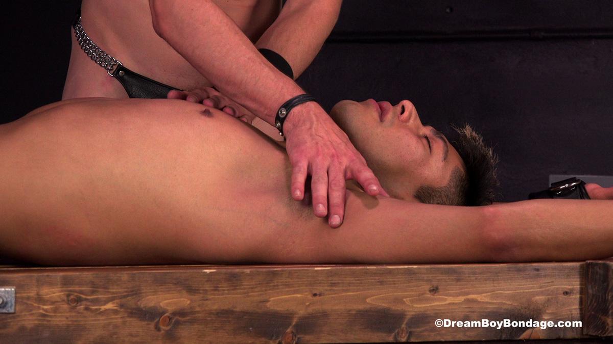 Gabriel is enslaved for bondage and torture