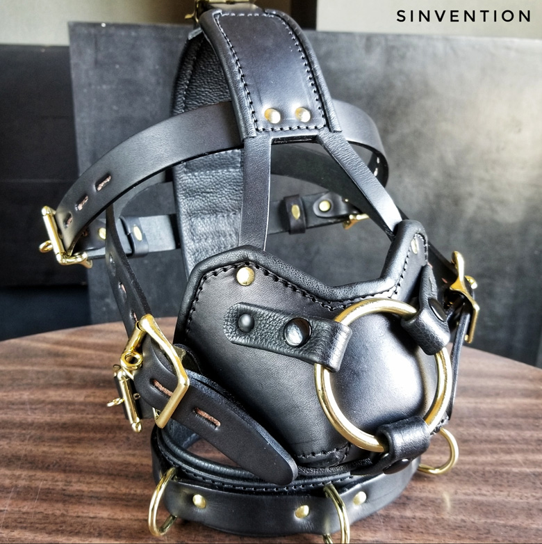 Purgatory Strap-On Muzzle for chastity slaves