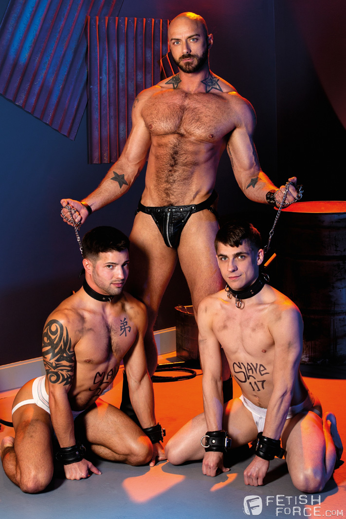 male BDSM Jessie Colter, Casey Everett, Kory Houston