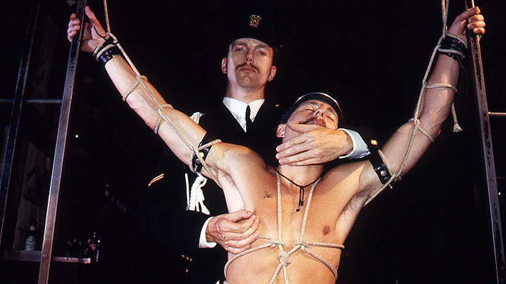 Vintage gay leather porn: Argos the Sessions