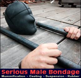 male bondage and restraint