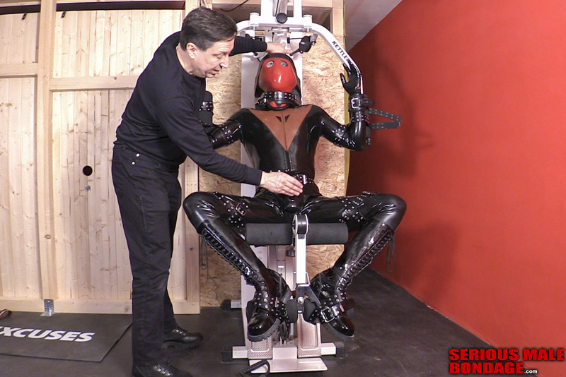male bdsm rubber and bondage