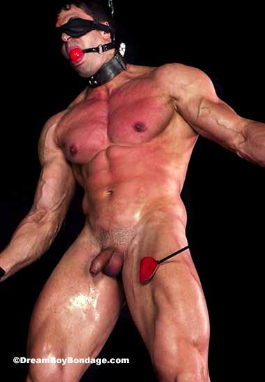 Anthony Martin loves keeping Stefano blindfolded and standing erect