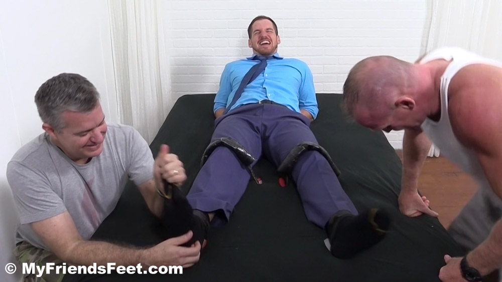 Chance Cruise gets tied down and tickle tortured