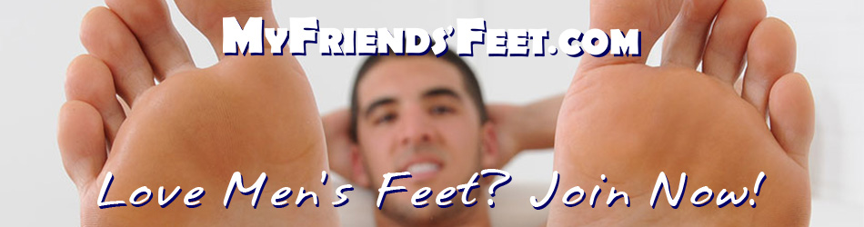 male foot worship and tickle