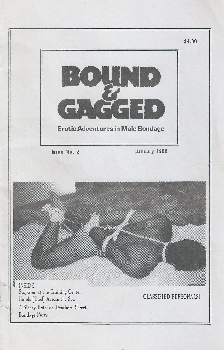 Bound & gagged magazine classic issues