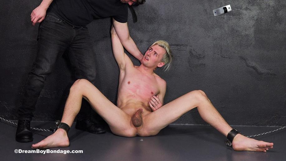Dream Boy Bondage forced oral