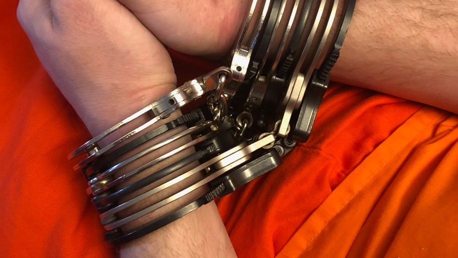 How many sets of cuffs can you wear at a time?