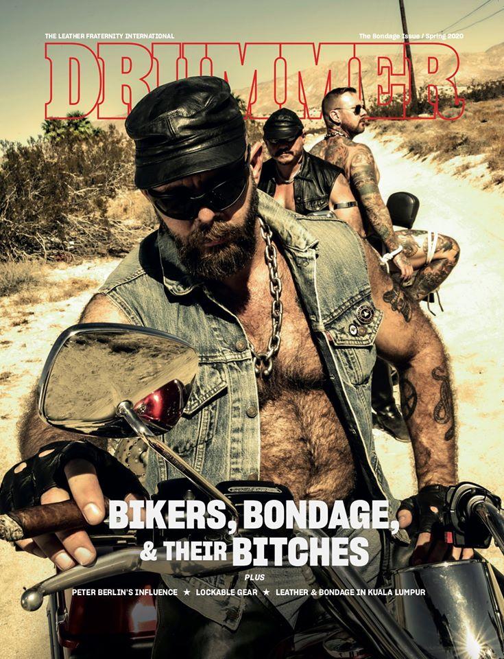 Drummer Magazine bondage issue