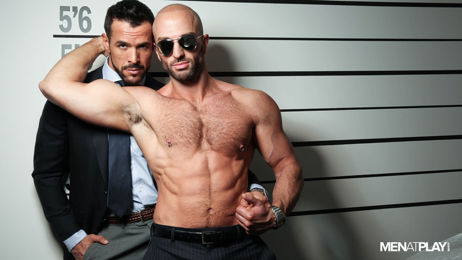 gay sex with handcuffs