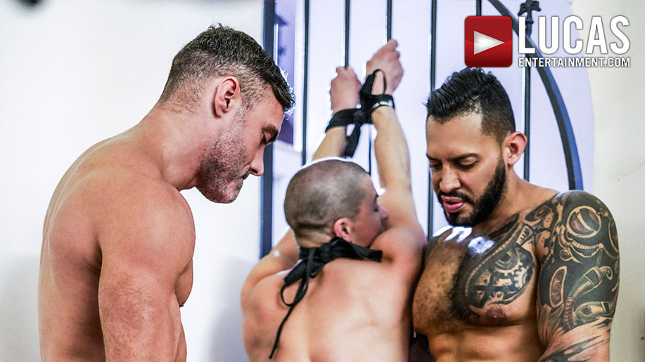 Lucas scene with bondage Ruslan Angelo