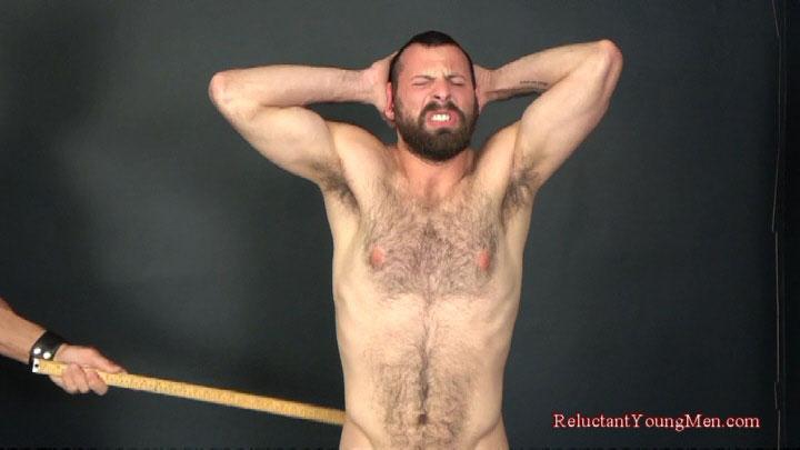 Scott wails on Jake's muscular ass