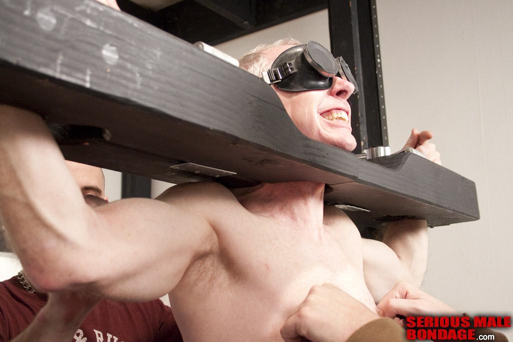 heavy male bondage