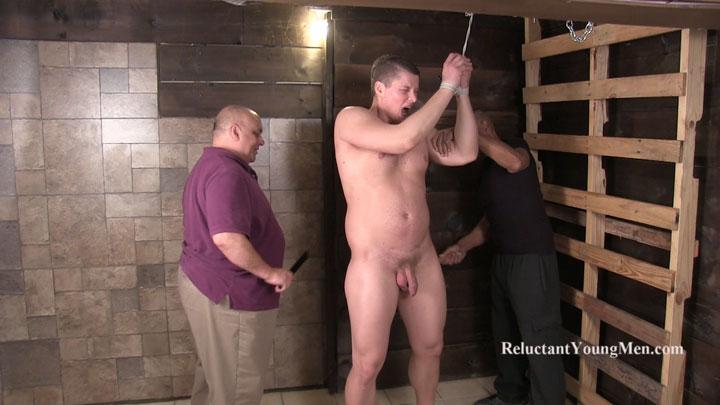 muscle bondage spank