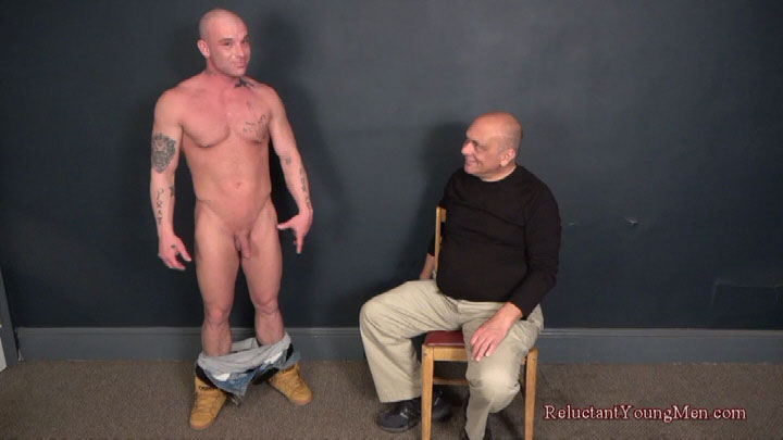 muscle man spanked