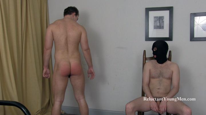 male bondage spanking