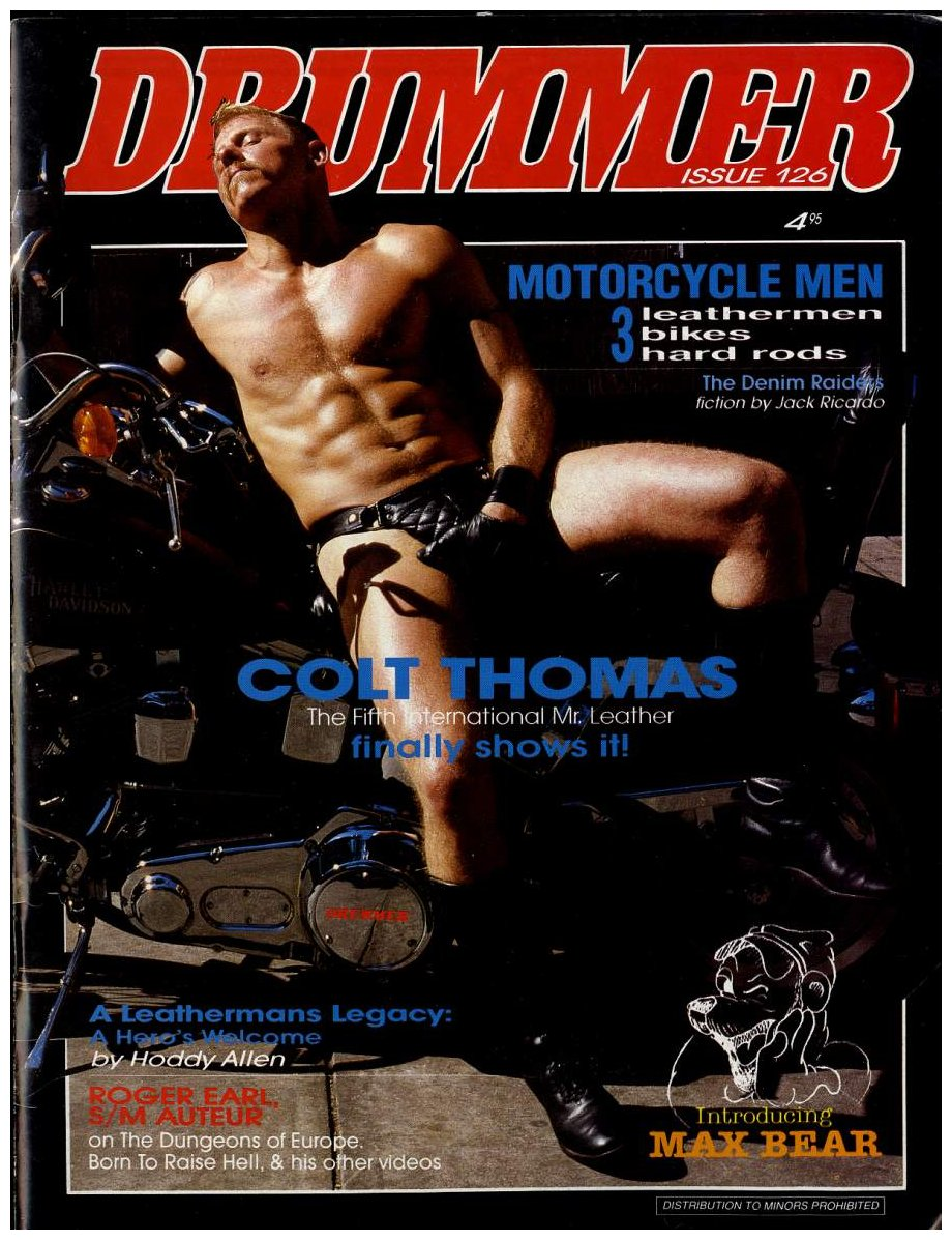 Colt Thomas Drummer magazine cover