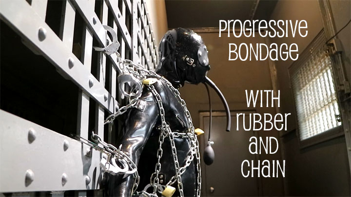 male rubber and bondage