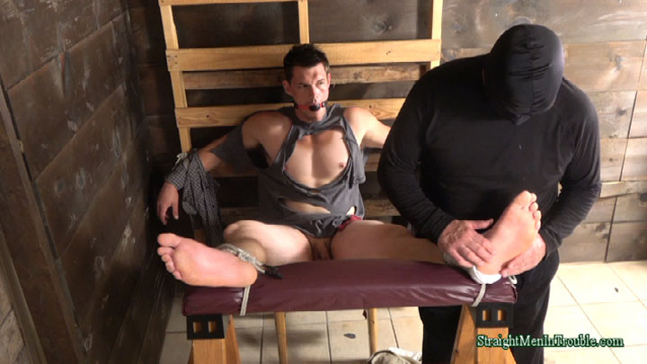 male bondage and foot torture