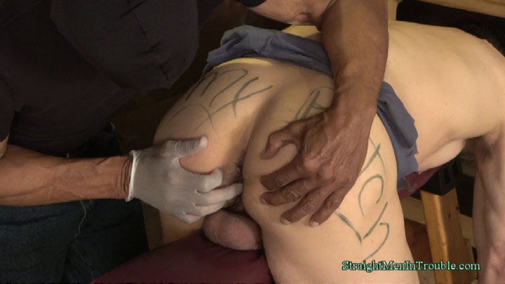 male butt spank and bondage