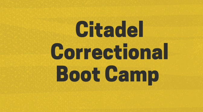 Punishment Cell at the Citadel Correctional Boot Camp – Part 02