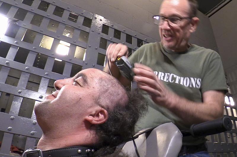 male bdsm forced haircut