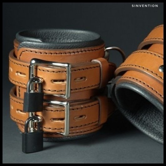 locking leather restraints